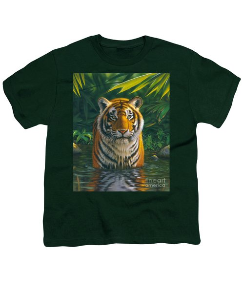 Tiger Pool Youth T-Shirt