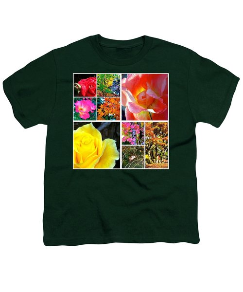 My #9ofpride Collage Youth T-Shirt