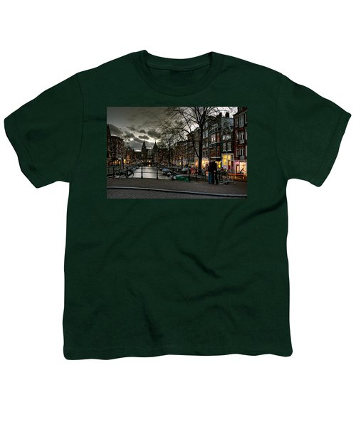 Prinsengracht And Spiegelgracht. Amsterdam Youth T-Shirt