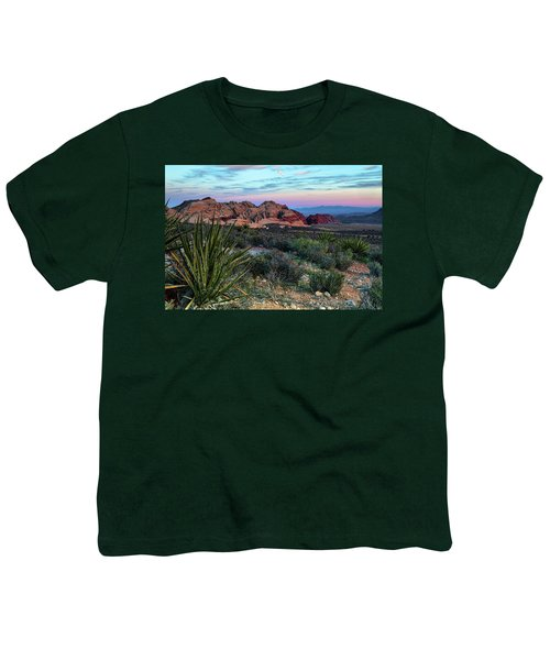 Red Rock Sunset II Youth T-Shirt