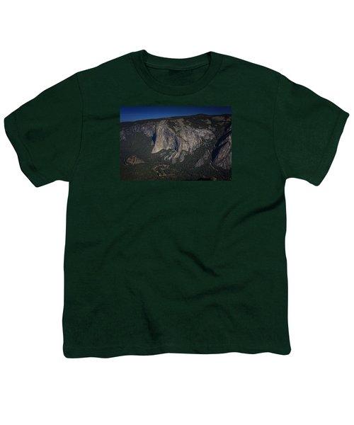 El Capitan  Youth T-Shirt by Rick Berk
