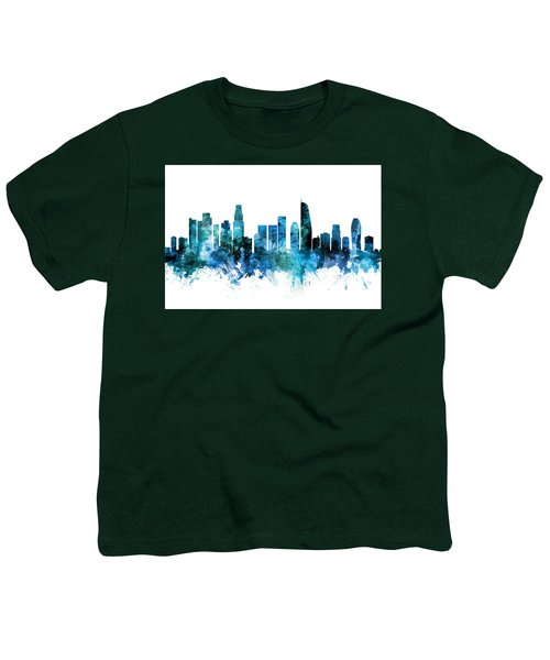 Los Angeles California Skyline Youth T-Shirt