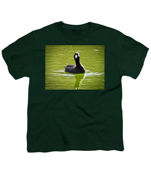 American Coot Portrait Youth T-Shirt