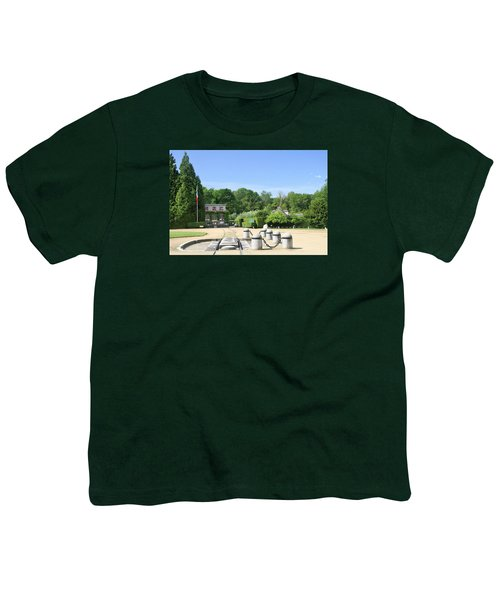 Youth T-Shirt featuring the photograph Armistice Clearing In Compiegne by Travel Pics