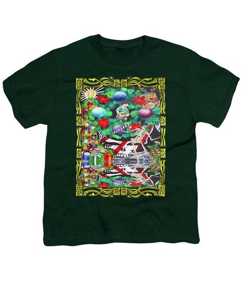 Christmas On The Moon Youth T-Shirt