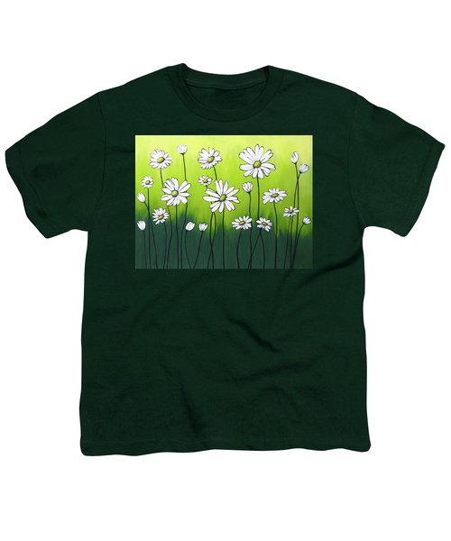 Daisy Crazy Youth T-Shirt by Teresa Wing