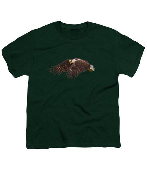 Bald Eagle  Youth T-Shirt by Mark Andrew Thomas