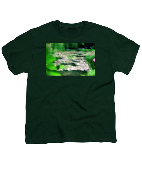 Youth T-Shirt featuring the photograph Claude Monets Water Garden Giverny 1 by Dubi Roman