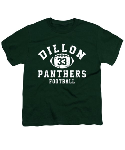 Dillon Panthers Football Youth T-Shirt