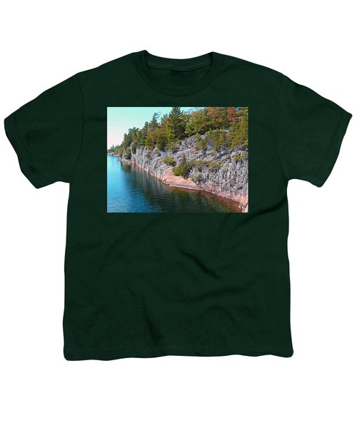 Fall In Muskoka Youth T-Shirt