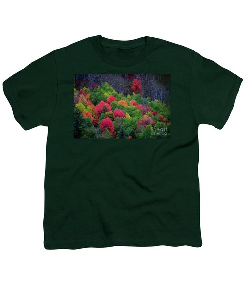 Fall Poppers Youth T-Shirt