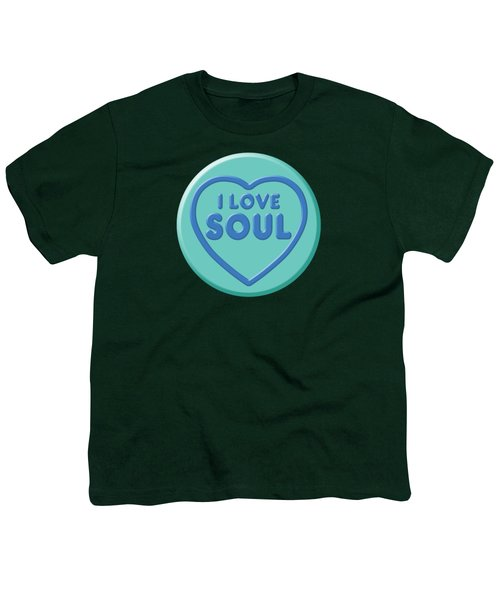 i Love Soul Youth T-Shirt