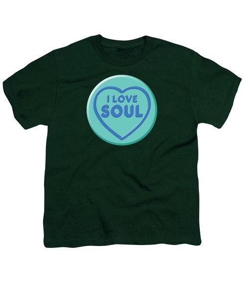 I Love Soul Youth T-Shirt