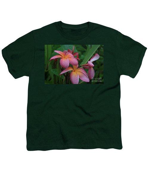 Kaikena Dreams Melia Aloha Keanae Youth T-Shirt by Sharon Mau
