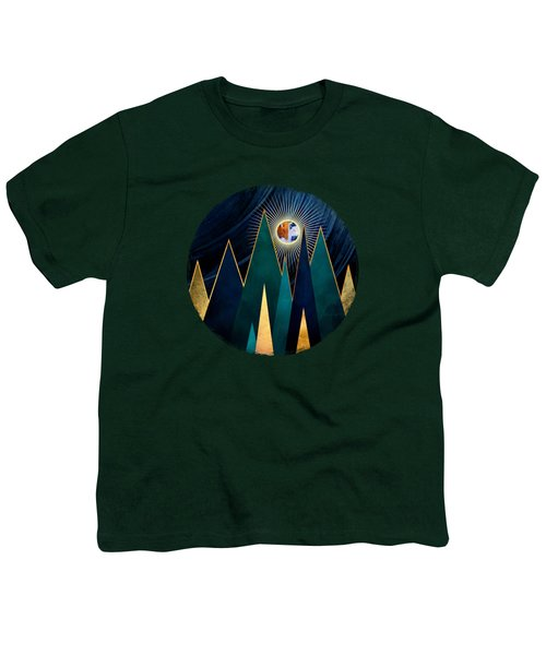Metallic Peaks Youth T-Shirt
