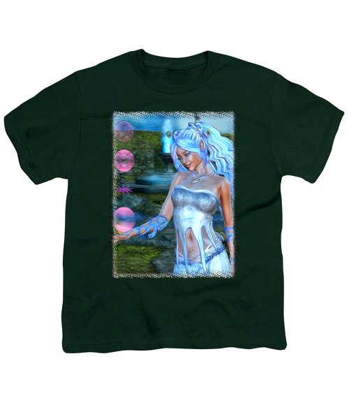 Mysticals Lake Youth T-Shirt by Sharon and Renee Lozen