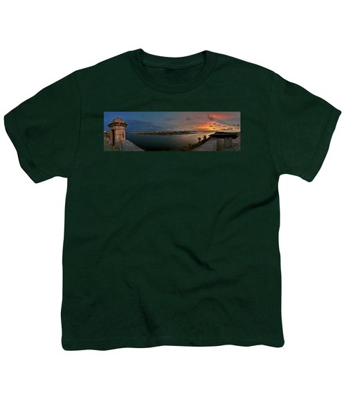 Panoramic View Of Havana From La Cabana. Cuba Youth T-Shirt