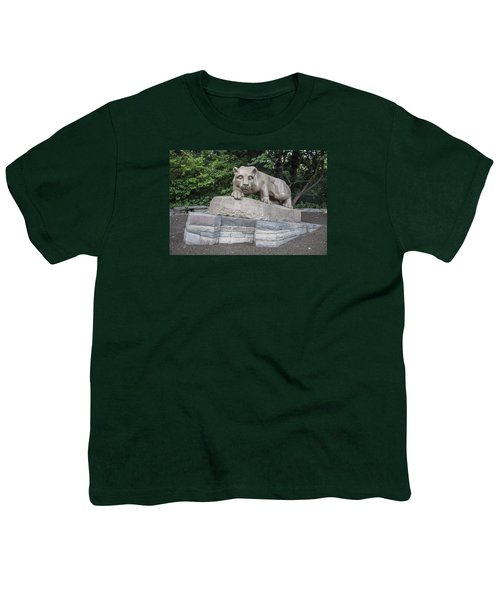 Penn Statue Statue  Youth T-Shirt by John McGraw