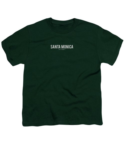 Santa Monica California Youth T-Shirt