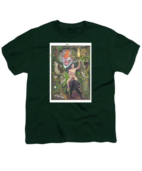 Savage Youth T-Shirt by J L Meadows