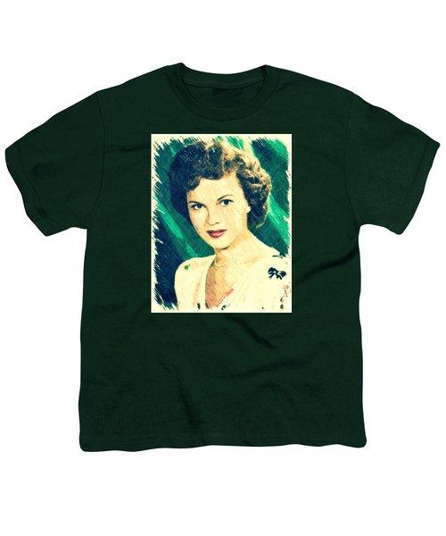Shirley Temple By John Springfield Youth T-Shirt by John Springfield