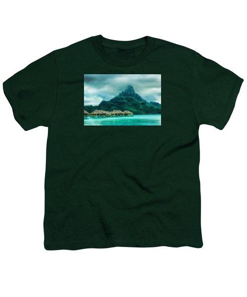 Solitude In Bora Bora Youth T-Shirt