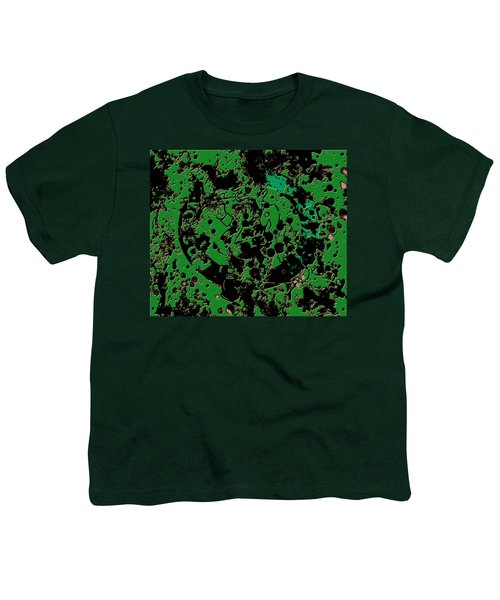 The Boston Celtics 6c Youth T-Shirt by Brian Reaves
