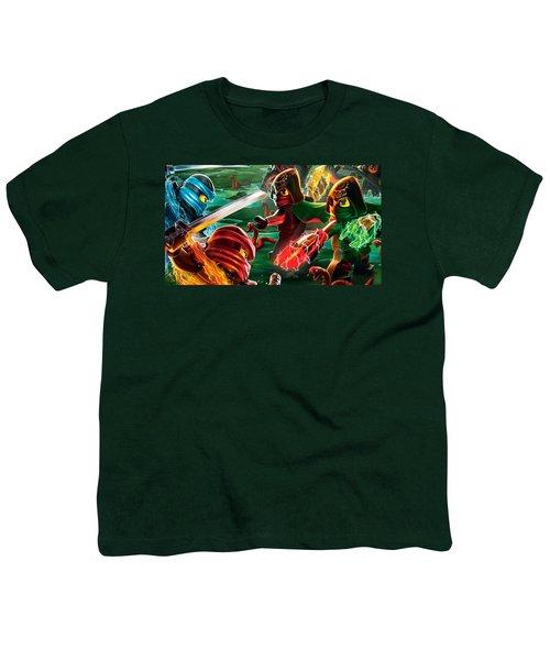 The Lego Ninjago Movie Youth T-Shirt