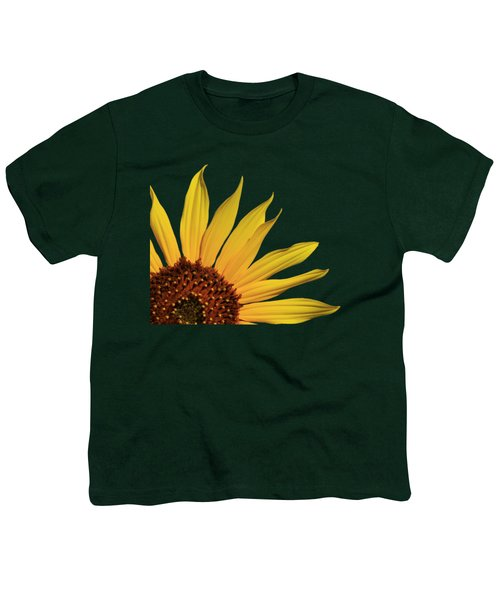 Wild Sunflower Youth T-Shirt by Shane Bechler