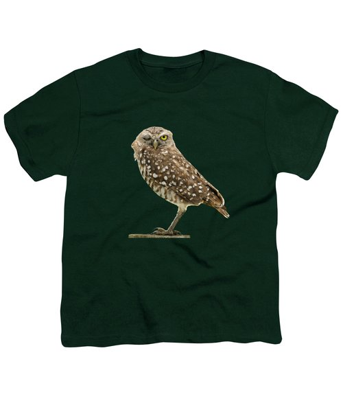 Winking Owl Youth T-Shirt