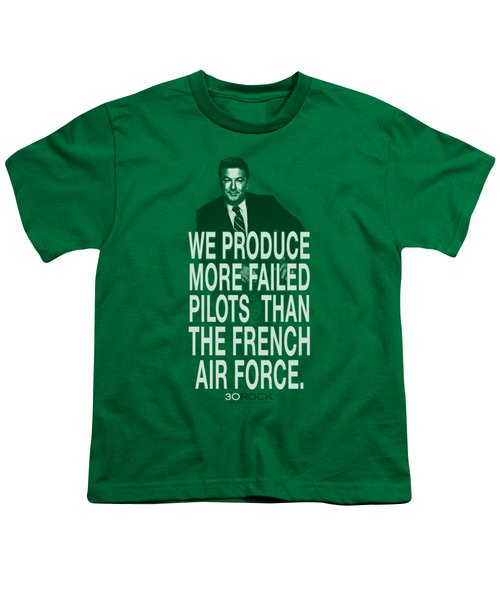 30 Rock - Failed Pilots Youth T-Shirt