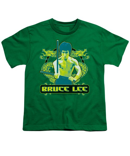 Bruce Lee - Double Dragons Youth T-Shirt