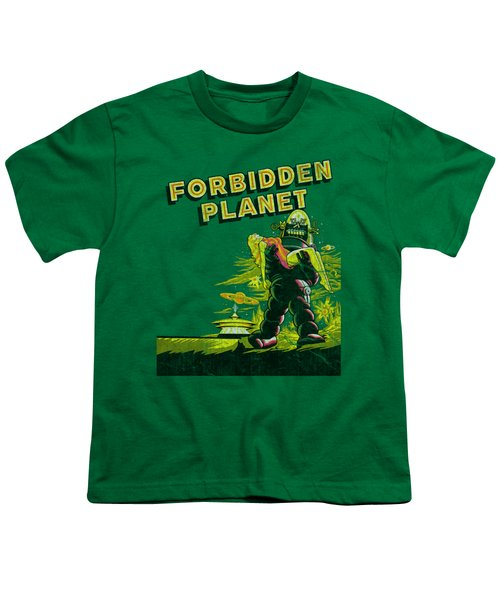Forbidden Planet - Old Poster Youth T-Shirt