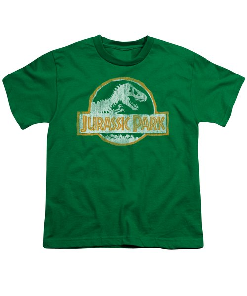 Jurassic Park - Jp Orange Youth T-Shirt