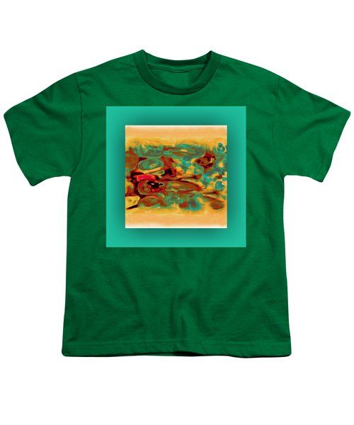 Youth T-Shirt featuring the digital art Pastel 5 by Mihaela Stancu