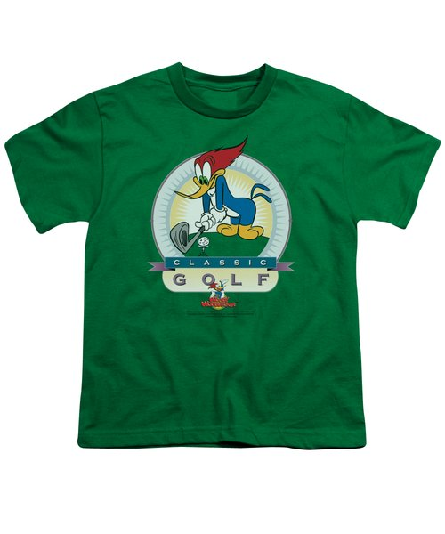 Woody Woodpecker - Classic Golf Youth T-Shirt