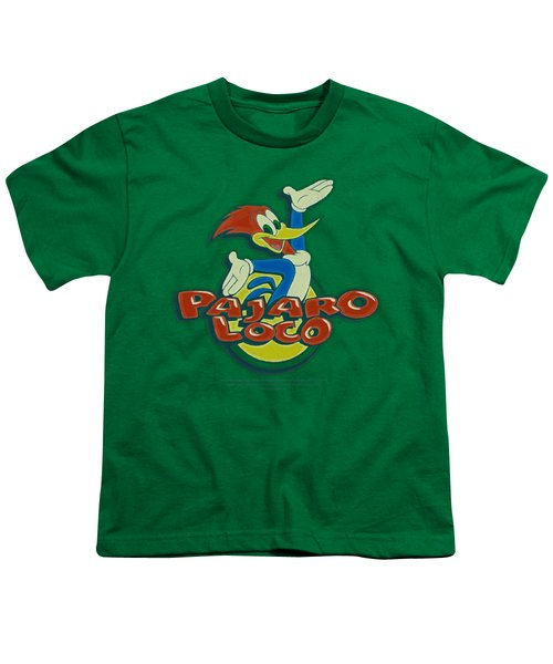 Woody Woodpecker - Loco Youth T-Shirt by Brand A