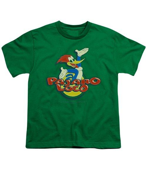 Woody Woodpecker - Loco Youth T-Shirt