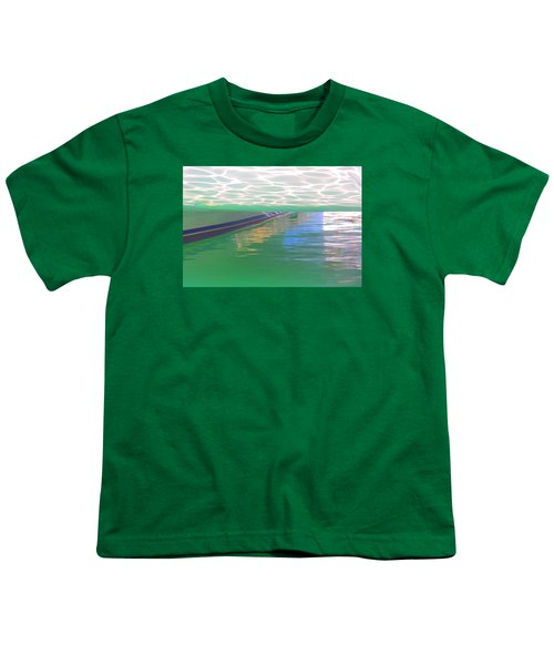 Youth T-Shirt featuring the photograph Reflections by Nareeta Martin
