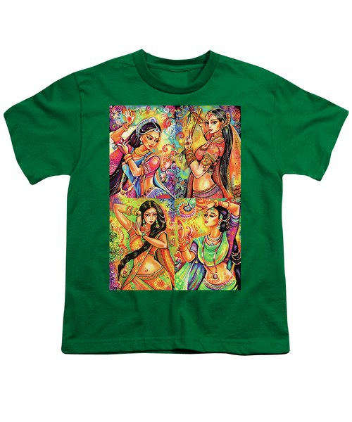 Youth T-Shirt featuring the painting Magic Of Dance by Eva Campbell