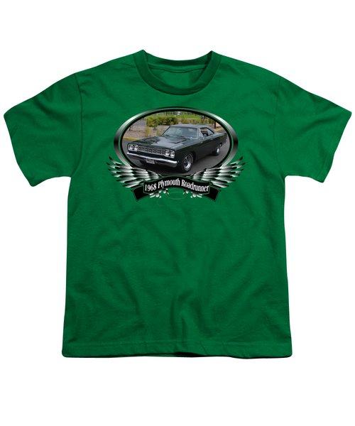 1968 Plymouth Roadrunner Davie Youth T-Shirt