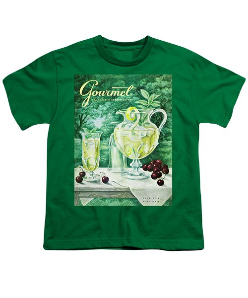 A Gourmet Cover Of Glassware Youth T-Shirt