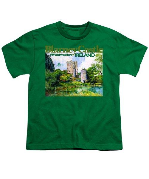 Blarney Castle Ireland Youth T-Shirt