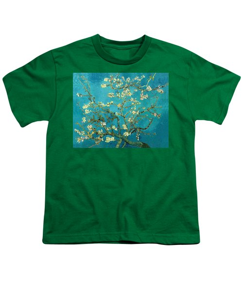 Youth T-Shirt featuring the painting Blossoming Almond Tree by Van Gogh