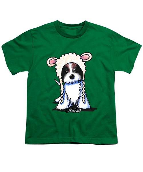 Coton De Tulear Youth T-Shirt by Kim Niles