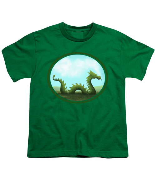 Dream Of A Dragon Youth T-Shirt by Little Bunny Sunshine