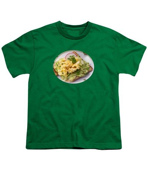 Egg Sandwich Youth T-Shirt by Mc Pherson