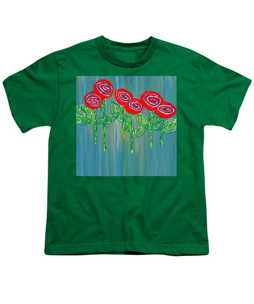 Floating Roses Youth T-Shirt