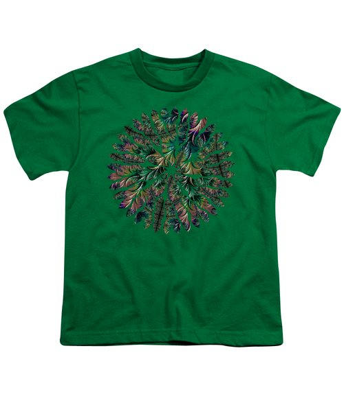 Iridescent Feathers Youth T-Shirt