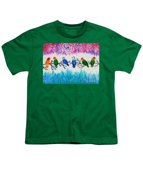 Nature's Jewels Youth T-Shirt by Cathy Jacobs